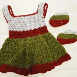 Two Tone Crochet Set
