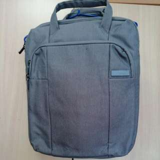 [PL] American Tourister 3-Way Laptop Bag Light Grey