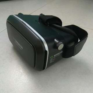 Shinecon vr headset with FREE wireless bluetooth controller