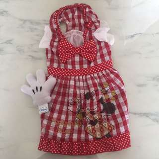 New Design Minnie Mouse Dress For Dogs/Cats