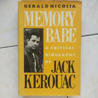 (Vintage Book) Memory Babe A Critical Biography Of Jack Kerouac (1983) Hard Cover