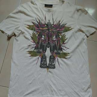 Givenchy Bird Of Paradise Robot T-shirt Size L Limited Edition For Sale.