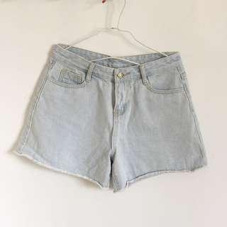 男友風牛仔短褲