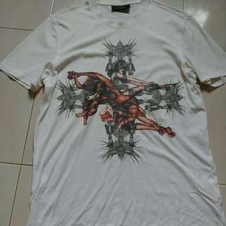 Givenchy Birds Of Paradise Robots And Female T-shirt Size M For Sale