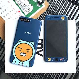 預購💕韓國kakao手機殼 手機殼+鋼化膜