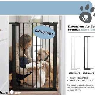 Scandinavian Pet Design Extra Tall Pressure Fit Safety Gate