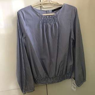 Zara basic striped longsleeves