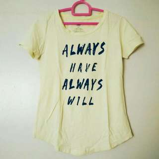 """""""Always Have Always Will"""" Statement Shirt (Negotiable Price)"""