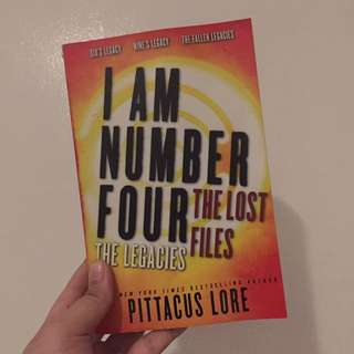 I Am Number Four The Lost Files By Pittacus Lore
