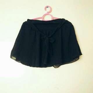 Black Mini Skirt (Negotiable Price)