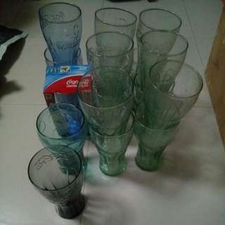 Assorted Coca Cola Glass!