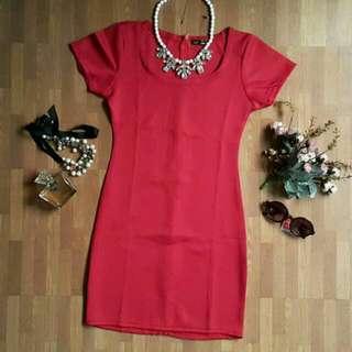 Red Dress Bodycon