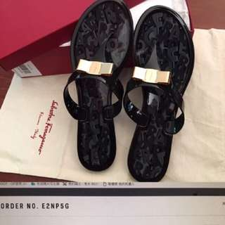 Ferragamo Slippers Very New