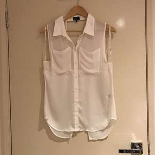 Bardot Shirt Top