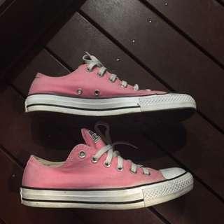Pink Converse All Stars Chucks