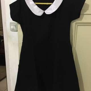 Collar Mini Dress