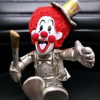 絕版禮盒裝30週年麥當勞叔叔公仔 - Limited Version Mcdonld's 30th anniversary doll