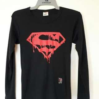 Superman Bodyfit Longsleeves
