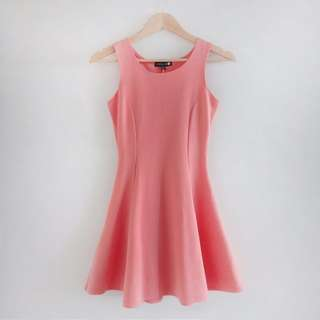 COTTON ON Peach A-Line Dress