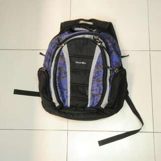Hawk Backpack Blue Camo