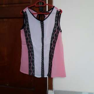 Pink Michie Blouse