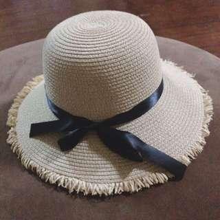 Korean Straw Hat From WeDoShop