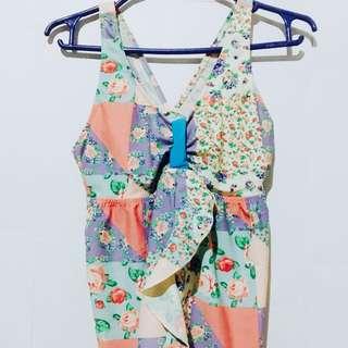 Floral Swimsuit Top (Tweens)