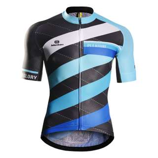 Monton Cycling jersey - DIEMNSION BLUE