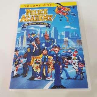 Police Academy Animated Series Cartoon Volume 1