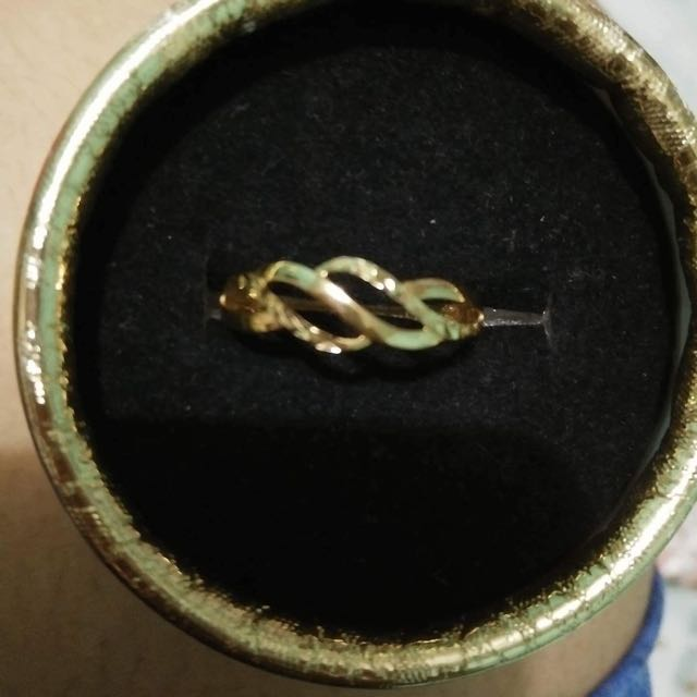18k Authentic Gold Ring