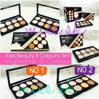 Kiss Beauty Highlight  & Countour Cream 3in1