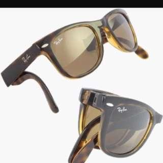 Rayban Folding wayfarer Sunglasses