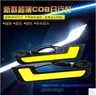 汽車LED L型7字日行燈超亮COB