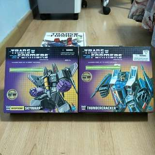 Transformers Thundercracker And Several Hasbro Reissue