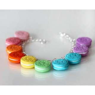 Rainbow Cookies Bracelet (103)