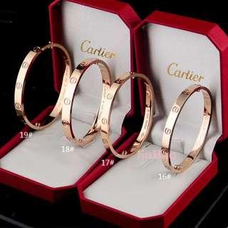 Cartier手镯 情侶手環