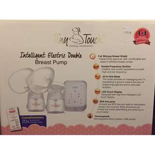 Tiny Touch Double Breast Pump ($60 new accessories included)