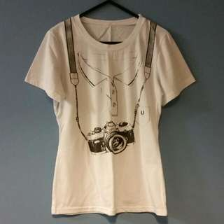 Hipster Camera Tee