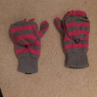 Winter Gloves That Convert to Mittens