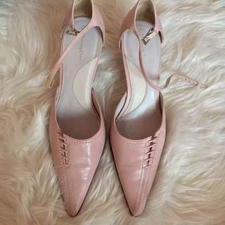 Pink Point Heels - Size 7