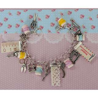 Sewing Charm Bracelet (104)