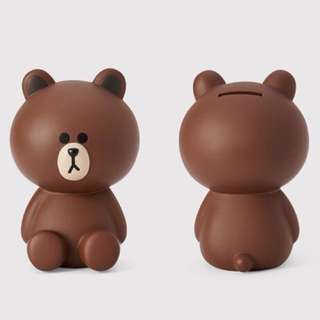 Brown Coin Bank 熊大錢甖