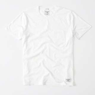Abercrombie & Fitch (A&f) Garment Dyed Crew Tee