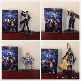 4 Of The Dissidia Final Fantasy Trading Art Vol. 1