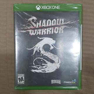 New Xbox One Shadow Warrior Video Game