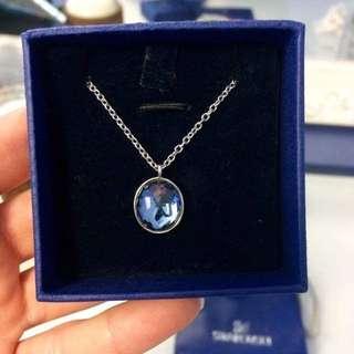 Swarovski Blue Crystal MARIE Pendant