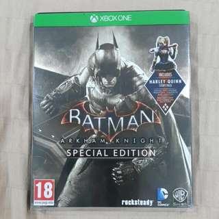 Xbox One Batman Arkham Knight Special Edition Video Game