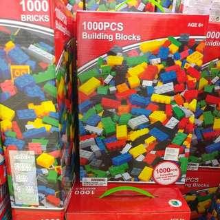 Lego compatible 1000 building blocks (in-stock)