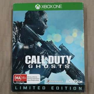Xbox One Call Of Duty Ghosts Limited Edition Video Game