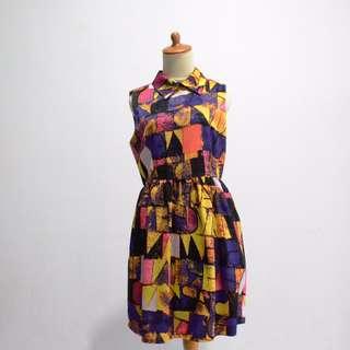 Collar dress - Mozaik